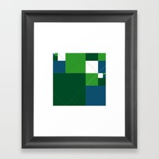 #542 Acres – Geometry Daily Framed Art Print