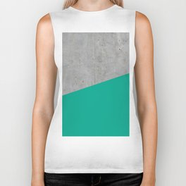 Concrete with Arcadia Color Biker Tank