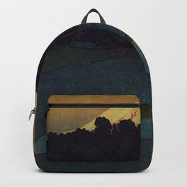 Sunset at Aga Backpack