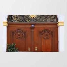 Beautiful Old Door Rug