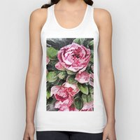 botanical Tank Tops featuring Botanical Beauty by lillianhibiscus