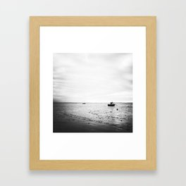 Mudflats Framed Art Print