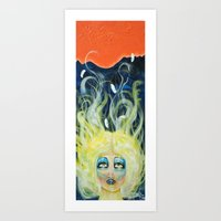 Days to Come Art Print