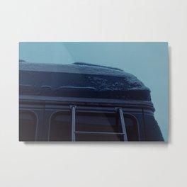 Light Dusting - Sheridan, WY Metal Print