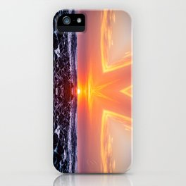 Kaleidoscape: El Tunco iPhone Case