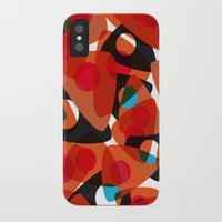 70s iPhone & iPod Cases featuring orange 70s by Matthias Hennig