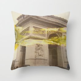 The Fault in Triumph Throw Pillow