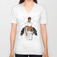 apollo V-neck T-shirts featuring Apollo by Cassandra Jean