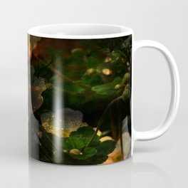 Frightening Glow in the Flowers Coffee Mug