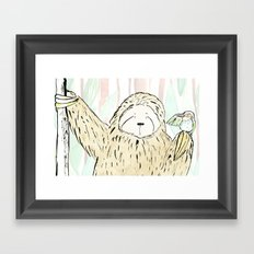 A Little Birdy Told Me Framed Art Print