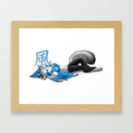 Just Relaxing Framed Art Print