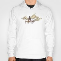 jazzberry Hoodies featuring Steam FLY by dvdesign