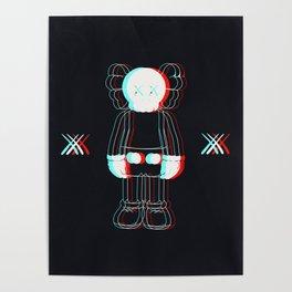 Trippy Kaws Poster