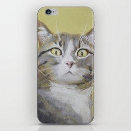 Cat Portrait #1 - Hattie iPhone Skin