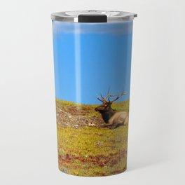 The Elk of Colorado Travel Mug