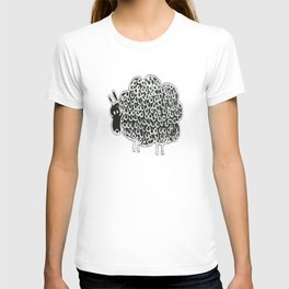 Chalkies sheep color 7 white T-shirt