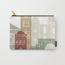 Marrakesh skyline poster Carry-All Pouch