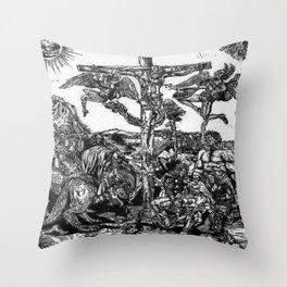 Hemmorrhage Throw Pillow