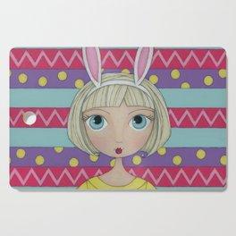 Bianca the Bunny Cutting Board