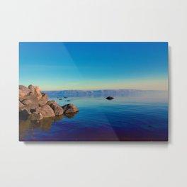 Horizon of the Ocean (Color) Metal Print
