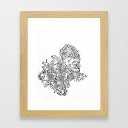 Lines of Sound Framed Art Print