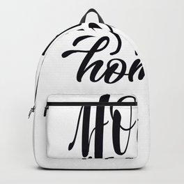 Tote Bag Design Home Sweet Home Backpack