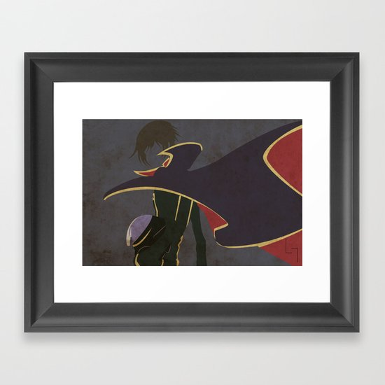 Lelouch Framed Art Print