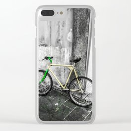 mode of transport Clear iPhone Case