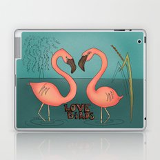 Love birds Laptop & iPad Skin