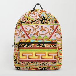 Gypsy Caravan Luxe Stripe Backpack
