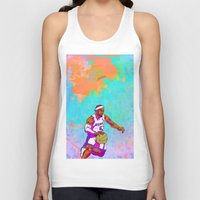 lebron Tank Tops featuring LeBron James by Maddison Bond