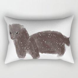 WinterWeasel Rectangular Pillow
