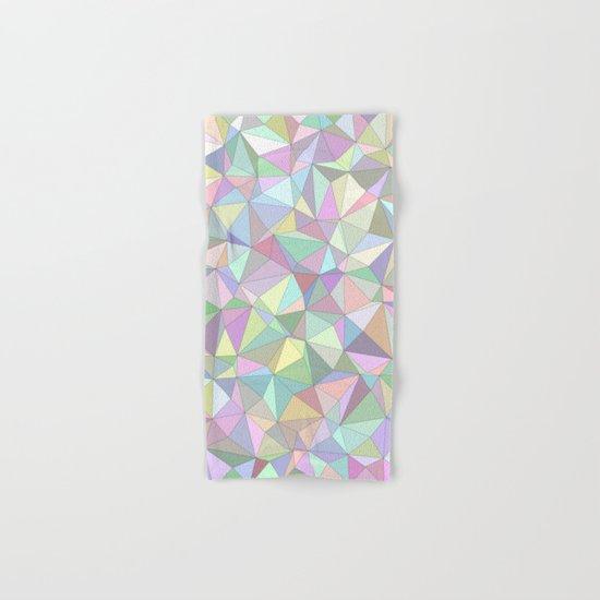 Happy triangles Hand & Bath Towel