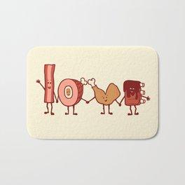 Meat Love U Bath Mat