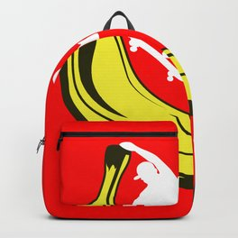 Skating banana halfpipe hobby life goal gift Backpack