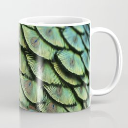 Peacock Feathers Kaffeebecher