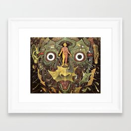 Journey of The Wounded Healer  Framed Art Print
