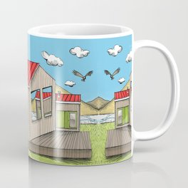 Skewed by Debbie Porter - Designs of an Eclectique Heart Coffee Mug