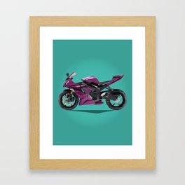 Purple Haze Kawasaki Framed Art Print