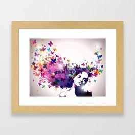 """""""Mind Blown"""" Framed Art Print"""
