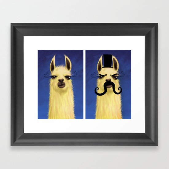 Evil Twin Framed Art Print
