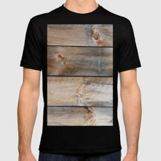 Barn J MEDIUM Mens Fitted Tee Black