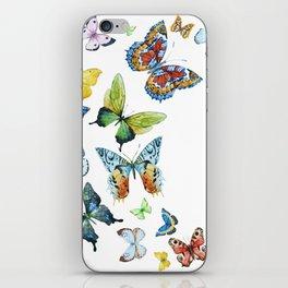 Butterflies 03 iPhone Skin