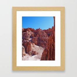Cathedral Gorge 2 Framed Art Print