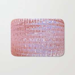 Birth of a Pink Planet Bath Mat