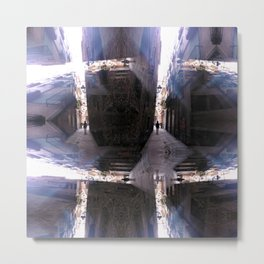 / alternately assimilate the variegated variables? Metal Print