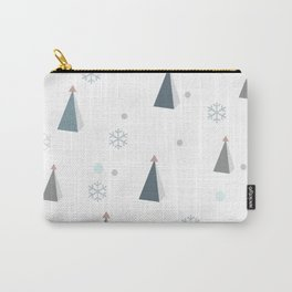 Modern Christmas tree landscape Carry-All Pouch