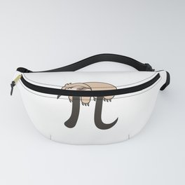 Sloth Funny Math Pun Pi Day Gift Math Science Lover Pi day Fanny Pack