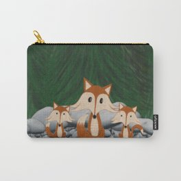 The Fox Family Carry-All Pouch