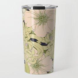Chrysanthemum 2 Travel Mug
